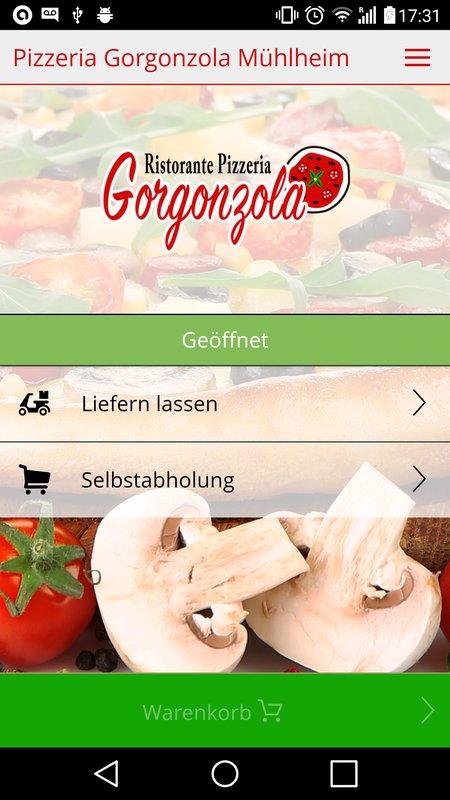 Pizzeria Gorgonzola Mühlheim